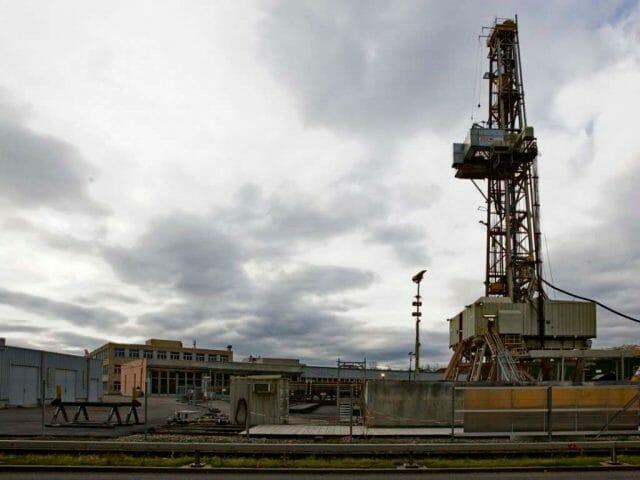 A svájci geotermikus erőmű, amely 2006-ban nagy riadalmat okozott. (Forrás: blick.ch)